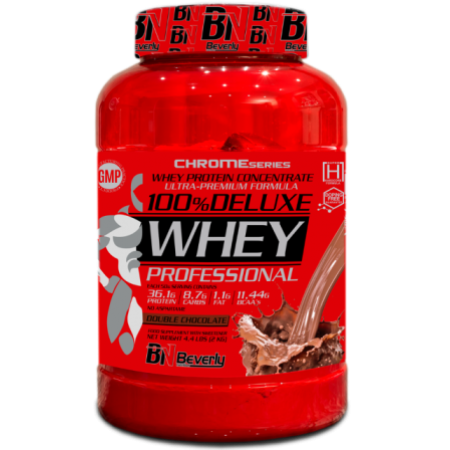 100% DELUXE WHEY PROFESSIONAL - Двоен шоколад