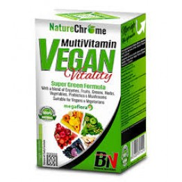 MULTIVITAMIN VEGAN VITALITY  \\ 25 ДОЗИ