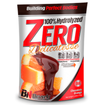 100%  HYDROLYZED WHEY ISOLATE  ZERO  Delicatesse 1kg. - Шоколад с портокал